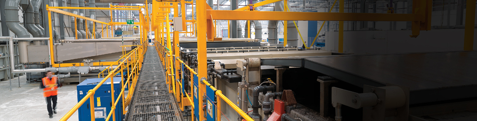 Fully automated process plant lines for electroplating and surface treatment