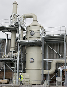 Fume extraction and abatement systems from NHE