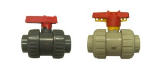 Lever ball valves