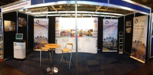 NHE Surface World exhibition stand